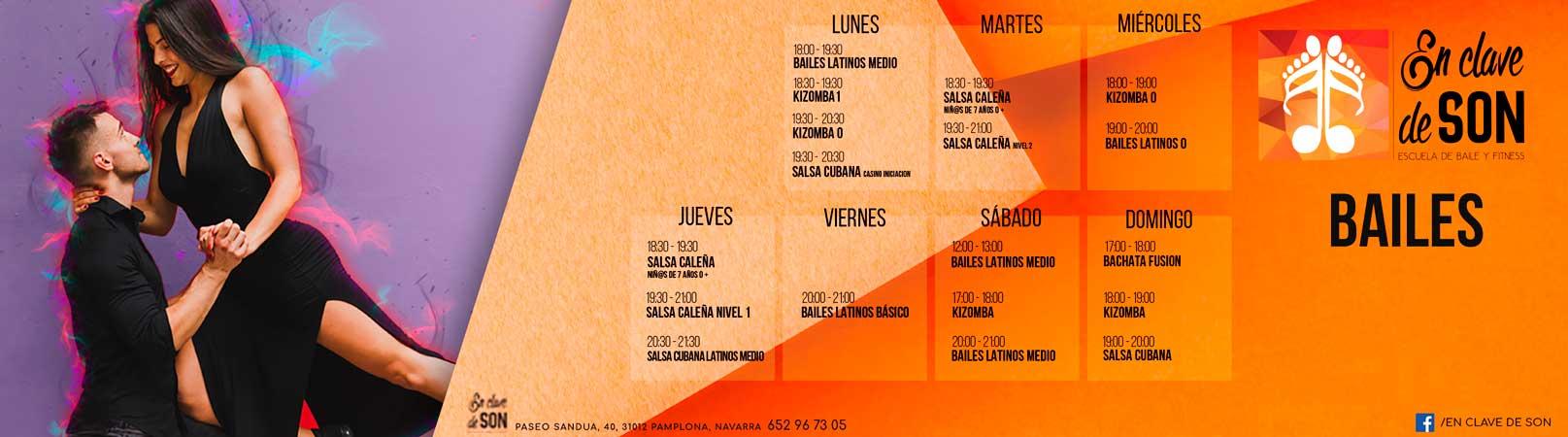 Bailes Latinos Pamplona